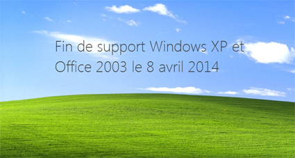 Fin des supports XP Office 2003